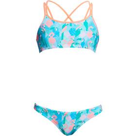 Funkita Criss Cross Two Piece Bikini Girls pastel paradise